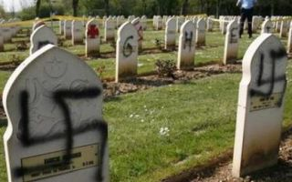 Осквернение могил, статья за порчу памятников, вандализм
